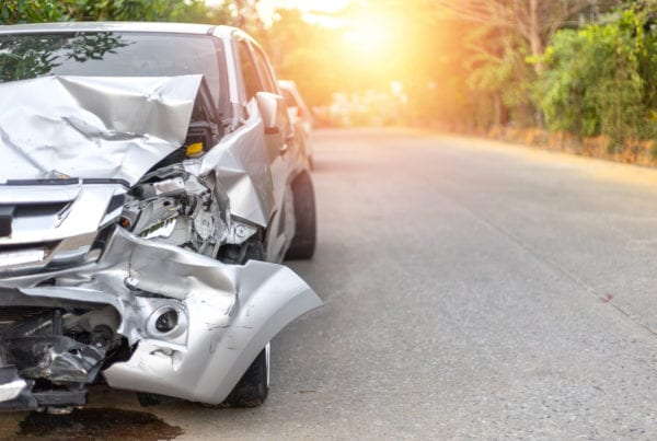 Neck Injuries after a Car Accident in San Rafael